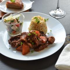 美肌的☆こっくり美味しい☆お味噌が隠し味の根菜と牛肉のブラウンシチュー