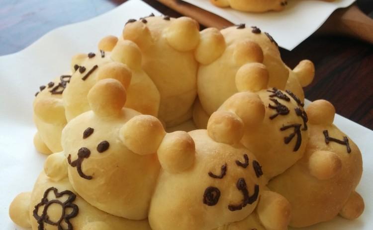 3Dちぎりパン&梨のコンポートを作ろう