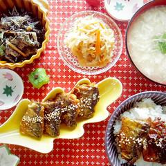 秋の旨味ギッシリ♪サンマの3枚おろしで甘辛蒲焼き*ほっこり和食計5品