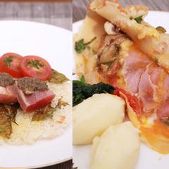 シェフ直伝!フランスのチーズガレットとじっくり焼いたタルトタタン