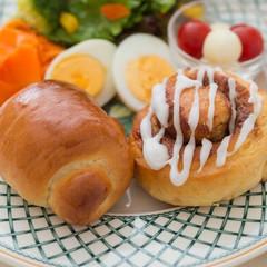 【ココナッツオイル使用】絶品ロールパン&ふわふわシナモンロール♡