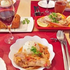 ワインのアテのモテ料理♡ハロウィンにかぼちゃのケークサレを作りましょ♪