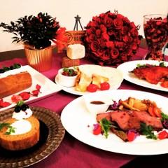 ローストビーフ&ロールケーキでおもてなしクリスマスパーティー♪