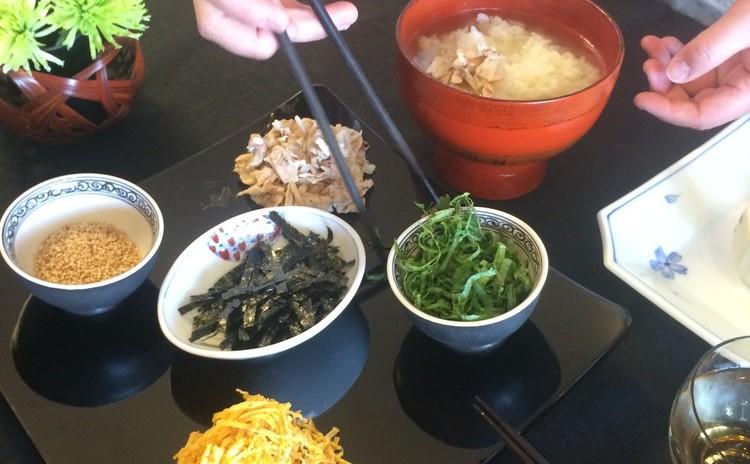 ローストチキンのアレンジレシピ ~鶏飯・しんじょう・サラダを翌日に!~