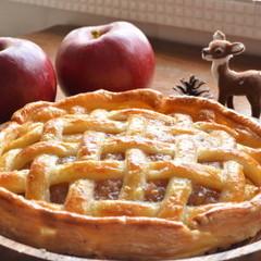 (日程追加)手間をかけた美味しさが味わえる本格折り込みのアップルパイ