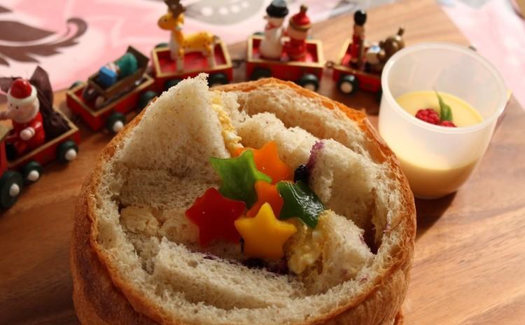 ゆっくり低温長時間発酵で作るライ麦バスケットパン