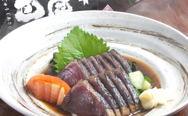 スーパーの「鰹」が本格!土佐流のたたきに!! キノコ焼ひたし、蒟蒻寿司