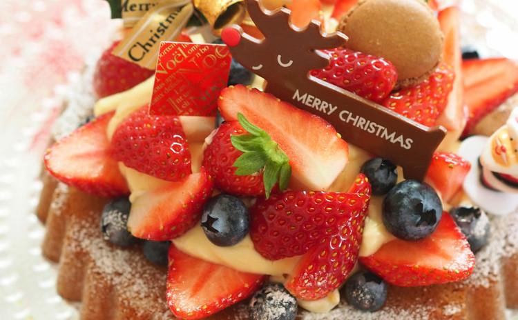 ★今年のクリスマスケーキはフルーツいっぱいのパンドジェンヌ・フリュイ!