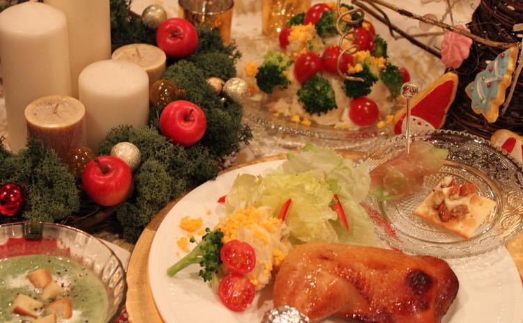 【親子レッスン】ローストチキンに挑戦!家族であったかクリスマス♪