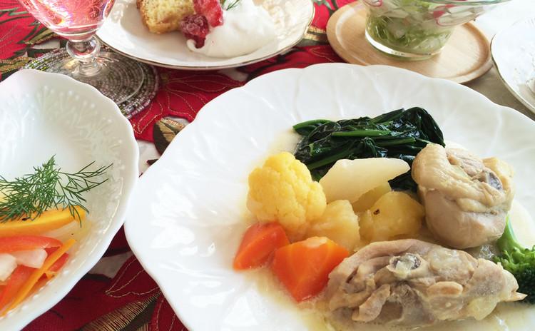 ルーなしでプロの味。薬膳チキンフリカッセで身体と心に優しいクリスマス。