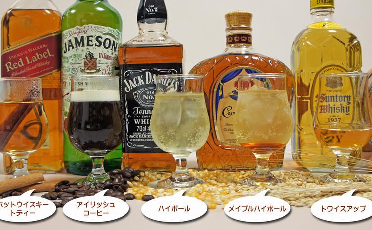 ウイスキーの楽しみ方(カクテル作り)