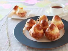 料理レッスン写真 - ブリオッシュ&チョコレートとアーモンドのブリオッシュ