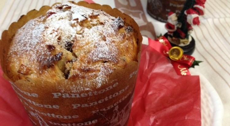 天然酵母でイタリアのクリスマスの菓子パン パネトーネを作りましょう♪