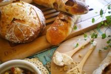 料理レッスン写真 - 日程追加!発芽玄米酒と濁酒✿2種の酒粕酵母で田舎パン&林檎スティック♡