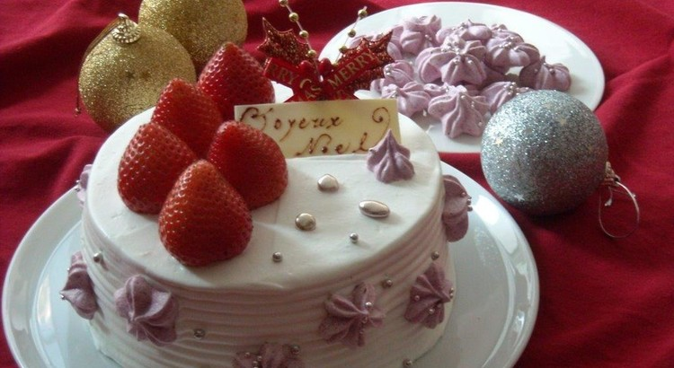 クリスマスは手作りで!イチゴのショートケーキ完全レッスン!