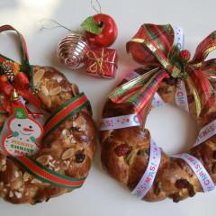クリスマス企画★ホシノ天然酵母DEツォップリース