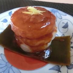 ☆冬のおうちごはん♫茄子と鶏カラ揚げ煮浸し♪サバの味噌煮&ゆず味噌大根