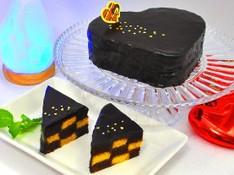 料理レッスン写真 - リバイバル! おしゃれバレンタイン~ハートのチェッカーボードケーキ~