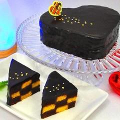 リバイバル! おしゃれバレンタイン~ハートのチェッカーボードケーキ~