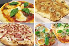 料理レッスン写真 - ピザ生地3種食べ比べ~タルトフランベ・マルゲリータ・パンピザ~