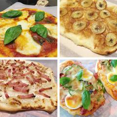 ピザ生地3種食べ比べ~タルトフランベ・マルゲリータ・パンピザ~
