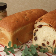 【ハーブ使用】さわやかな香りと甘みのフェンネル入り生地でパン2種