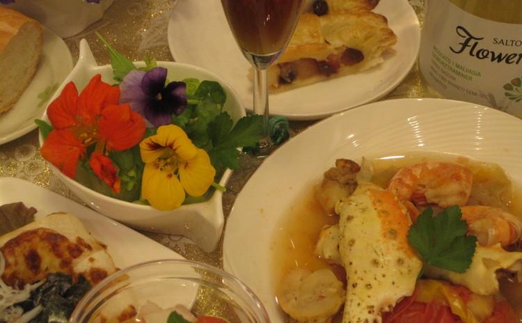 オリンピックとブラジル料理♪蟹・エビ・貝もたっぷり♡豪華&簡単が嬉しい
