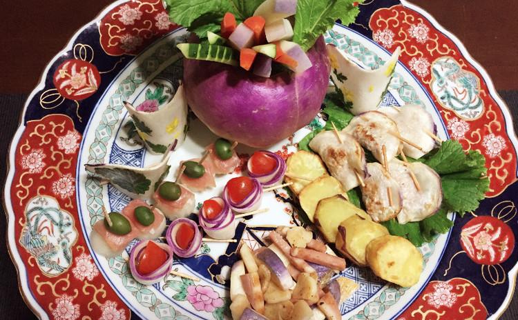 高知の蕪で蕪皿鉢!色んな蕪料理で大皿を飾りましょう!