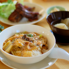 簡単だから何度でも 寒い季節に食べたい白菜の餡掛けご飯、大根スープ他