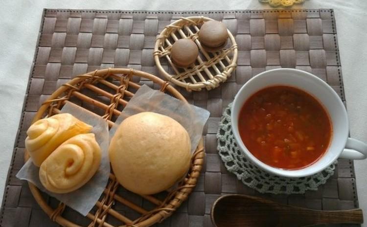 ★ランチ付き・イーストレッスン★ピザまん&蒸しパン