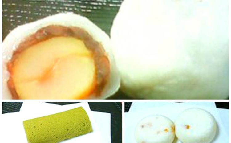 和菓子に挑戦!   和栗の大福&抹茶かるかん、柚子かるかん