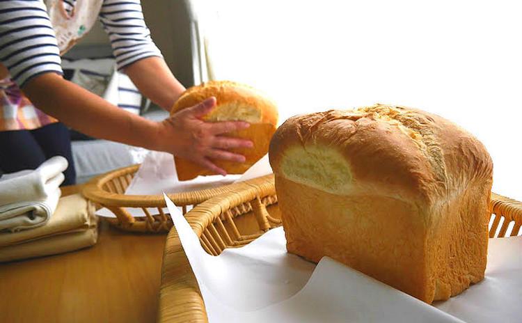 『黄金比率』のふんわりミルキー食パン!【特製ランチ付】