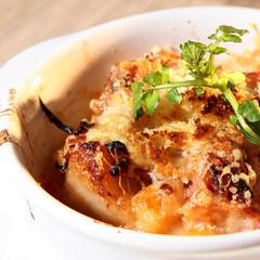 冬の定番 フランスの家庭料理 オニオンチーズのカスレ