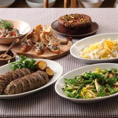 みんなで集まる日のごはん 取り分け&大皿料理で気楽に華やかに