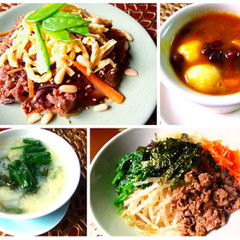 美味しく食べて、元気&美肌に効く韓国料理を作りましょう♫