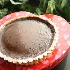 濃くのあるなめらかな「生チョコタルト」でバレンタイン♡ 15cm丸1台