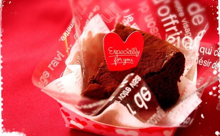 【こども】バレンタイン☆本命ガトーショコラ&友チョコクッキー