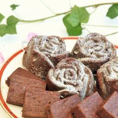 リッチなチョコレートのマフィン&ブラウニー バレンタイン・友チョコに♪