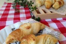 料理レッスン写真 - サクッとふんわり天然酵母で香り豊かなクロワッサン作りに挑戦!