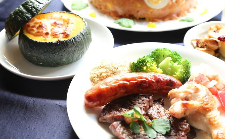 世界のご馳走ブラジル♪シュラスコ風焼き肉と南瓜のグラタンでほっかほか!