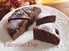 料理レッスン写真 - バレンタインに作りたい♡濃厚ガドーショコラ&ふんわりチョコムース