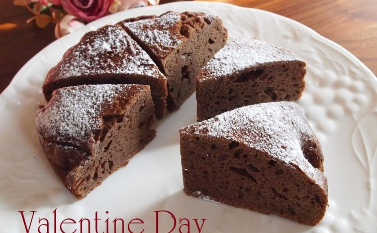 バレンタインに作りたい♡濃厚ガドーショコラ&ふんわりチョコムース