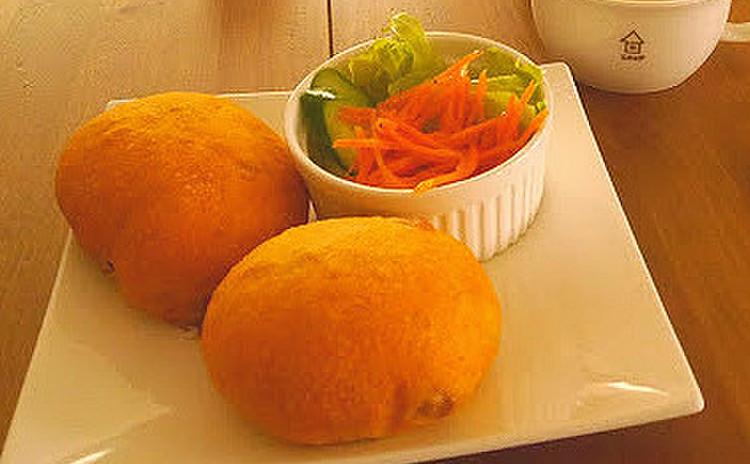【試食タイム】パン・サラダ・スープでカフェランチ♪