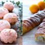 料理レッスン写真 - ピンクマカロンを桜パン生地にトッピング!さらに30cmの編みパンも♪