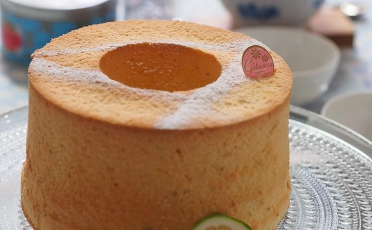 女性に優しい「レモンと豆乳のシフォンケーキ」一人1台お作りいただきます