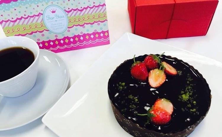 生ショコラ☆バレンタインケーキ♪ 乳・卵不使用のヴィーガンスイーツ!