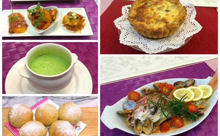 イタリア魚料理の定番!『アクアパッツア』とサクサクパイのキッシュ全6品