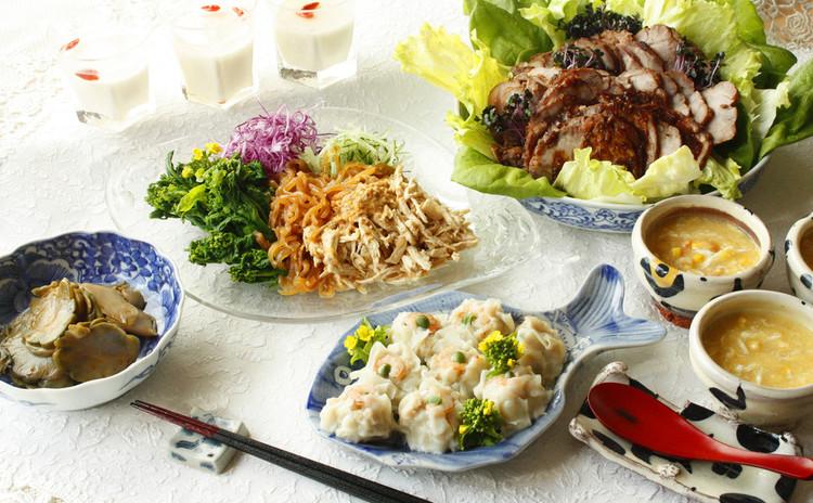 新たな出発を手作り中華料理で応援!食卓を元気に、パーティを華やかに!!