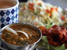 料理レッスン写真 - [インド人に習える]本場のタンドリーチキン&ひよこ豆とほうれん草カレー