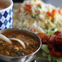 [インド人に習える]本場のタンドリーチキン&ひよこ豆とほうれん草カレー